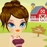 Free online flash games - Thanksgiving Holiday Makeover game - WowEscape