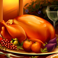 Free online flash games - Find the Thanksgiving Stars game - WowEscape