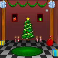 KnfGame Winter Christmas House Escape