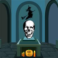 Free online flash games - Halloween Skull Door Escape game - WowEscape