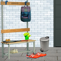 Free online flash games - Ekey Sports Locker Room Escape
