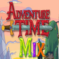 Free online html5 games - Adventure Time Mix game