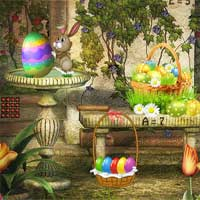 Free online flash games - Magic Easter Garden Escape game - WowEscape