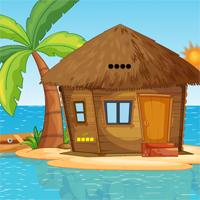 Free online flash games - Island Hut House Escape game - WowEscape