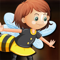 Free online flash games - Avm Honey Bee Girl Escape game - WowEscape