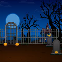 Halloween Graveyard Escape info about the game Games2Rule.