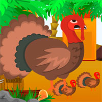 Free online flash games - Escape Thanksgiving Desert game - WowEscape