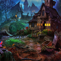 Free online flash games - Avm Halloween Dark Palace Escape game - WowEscape