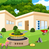 Free online flash games - Games4King Princess Rescue From Garden House game - WowEscape