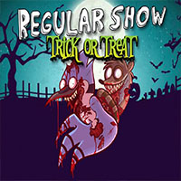 Free online html5 games - Regular Show Trick or Treat game