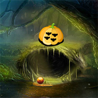 Free online flash games - 8B Fantasy Pumpkin Forest Escape game - WowEscape