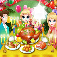 Free online flash games - Thanksgiving Cooking Turkey game - WowEscape