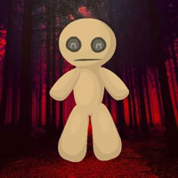 Free online html5 escape games - Halloween Scarlet Forest Escape HTML5