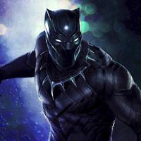 Free online flash games - Hiddenogames Black Panther-Hidden Alphabets game - WowEscape