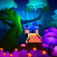 Free online flash games - MirchiGames Full Moon Angel Escape game - WowEscape