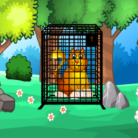 Free online html5 escape games - G2M Golden Cat Escape