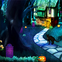 Free online flash games - NSREscapeGames Halloween Escape 2018 Chapter 4 game - WowEscape
