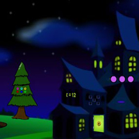 Free online flash games - G2J Witch Cat Escape