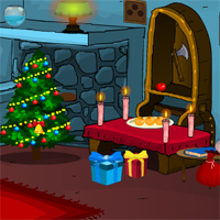 Free online flash games - Games4Escape Christmas Gift Escape game - WowEscape