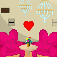 Free online flash games - Games4escape Valentines House Escape game - WowEscape