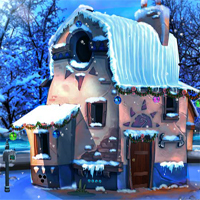 Free online flash games - EnaGames The Frozen Sleigh-The Park Town Escape game - WowEscape