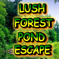 Free online flash games - Lush Forest Pond Escape