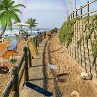 Free online flash games - Can You Escape Abandoned Island 5nGames game - WowEscape