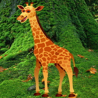 Free online flash games - Big Giraffe Escape game - WowEscape