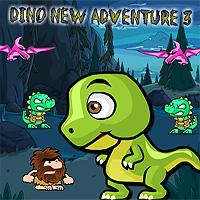 Free online flash games - Dino New Adventure 3 game - WowEscape