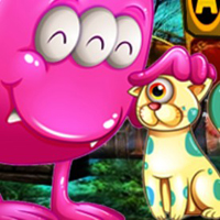 Free online flash games - G4K Cute Creature Friends Rescue