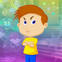 Free online flash games - G4K Indignant Boy Escape