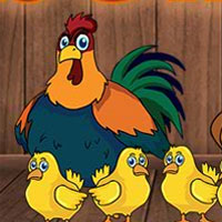 Free online flash games - G2J Hen Family Escape