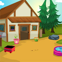 Free online flash games - Games4King Cute Calf  Escape game - WowEscape