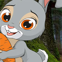 Free online flash games - AVM Little Funny Rabbit Rescue game - WowEscape