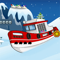Free online flash games - Games2Jolly Snowboy Escape