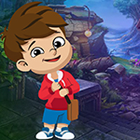 Free online flash games - Games4King  Ebullient Boy Rescue Escape game - WowEscape
