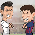 Free online flash games - Ronaldo Messi Duel game - WowEscape