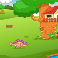 Free online flash games - KnfGames Rescuse Dinosaur Egg game - WowEscape