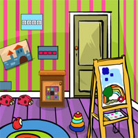 GenieFunGame Kids Room Escape