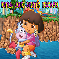 Free online flash games - Dora And Boost Escape game - WowEscape