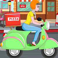 Free online flash games - Elsa Pizza Delivery game - WowEscape