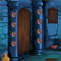 Free online flash games - Games4Escape Halloween Scary Door Escape game - WowEscape