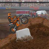 Free online flash games - Motocross Air game - WowEscape