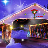 Free online flash games - Top10NewGames Find The Christmas Candle game - WowEscape