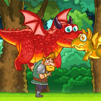 Free online flash games - Dragon Run PlatformGames game - WowEscape