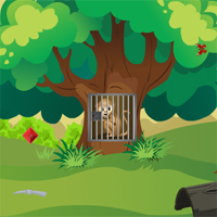 Free online flash games - Top10NewGames Rescue The Monkey game - WowEscape
