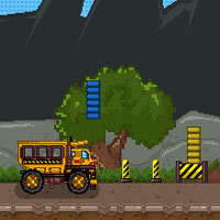 Free online flash games - Truck Rush 3 game - WowEscape
