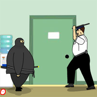 Free online flash games - Fat Ninja FreeOnlineGames game - WowEscape