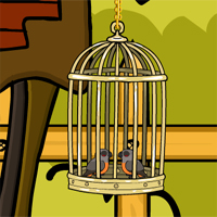 Free online html5 games - Games2Jolly Cute Love Birds Rescue game