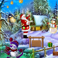 Free online flash games - Top10 Find the New Year Cake game - WowEscape